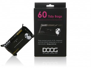 Doog Pick Up Bags Strawberry Scented