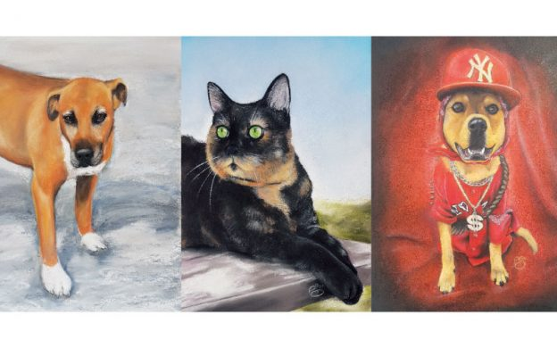 DOGSLife has one free A3 pet portrait to give away!