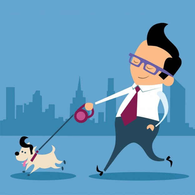 bigstock-Businessman-Dog-Wa